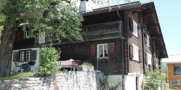 Altes Holzhaus in Disla