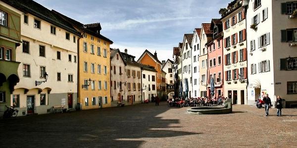 Die Altstadt von Chur
