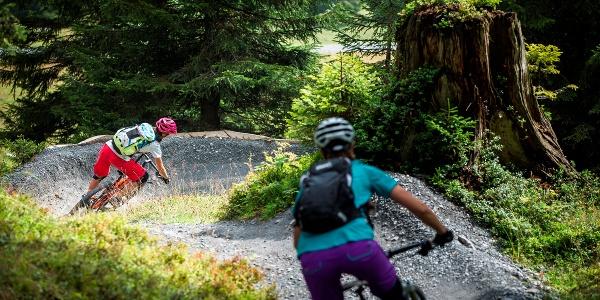 Runca Trail in Flims