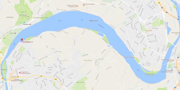 Baldeneysee - Straßenkarte