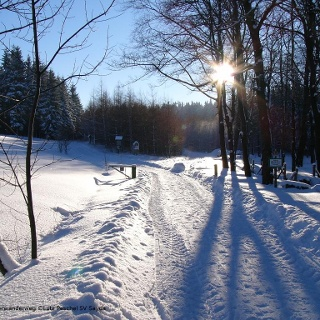 Am Saydaer Winterwanderweg