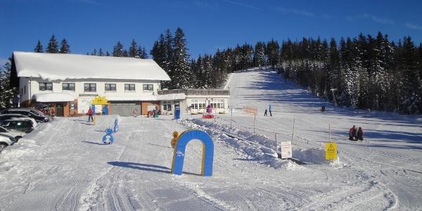 Berghaus mit Kinderland und Florkogel