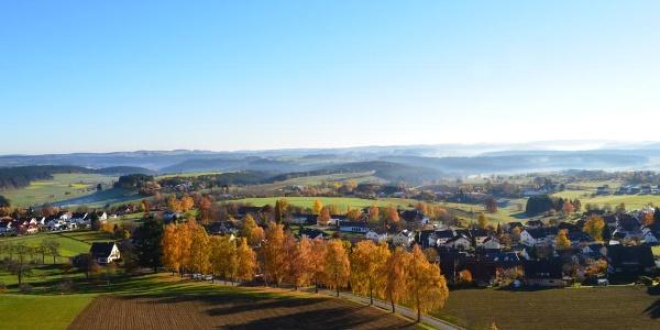 Panoramablick vom Vogteiturm