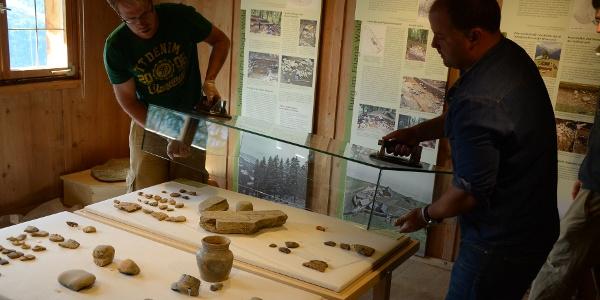 Museum Frühmesshaus, Einrichtung Archäologie