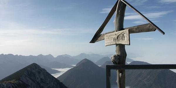 Am Gipfel des Hochobir