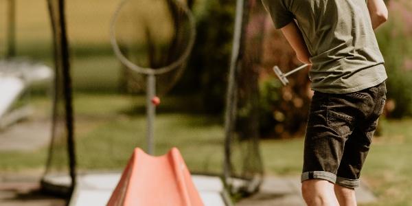 Hotel mit 18-Loch-Minigolf Anlage