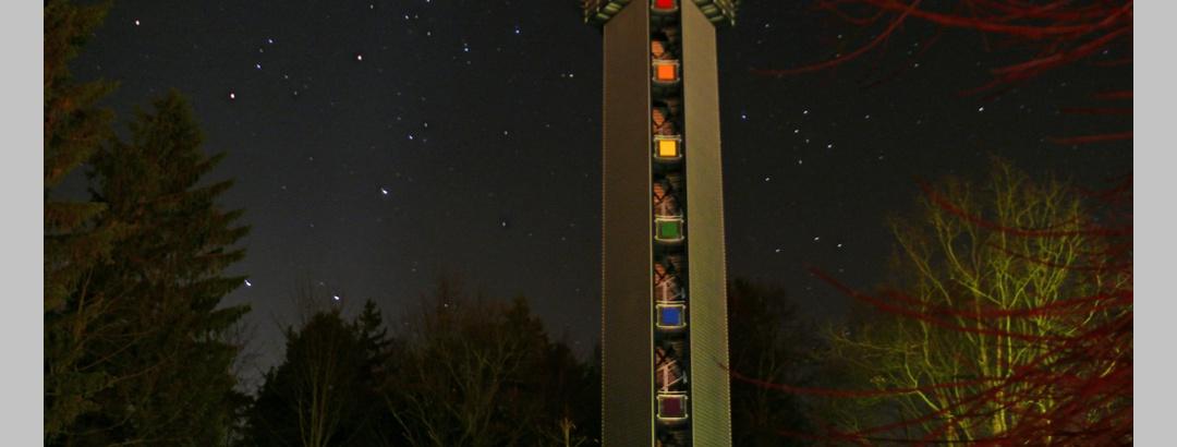 """""""Glück auf!"""" - Turm auf dem Bühlberg"""