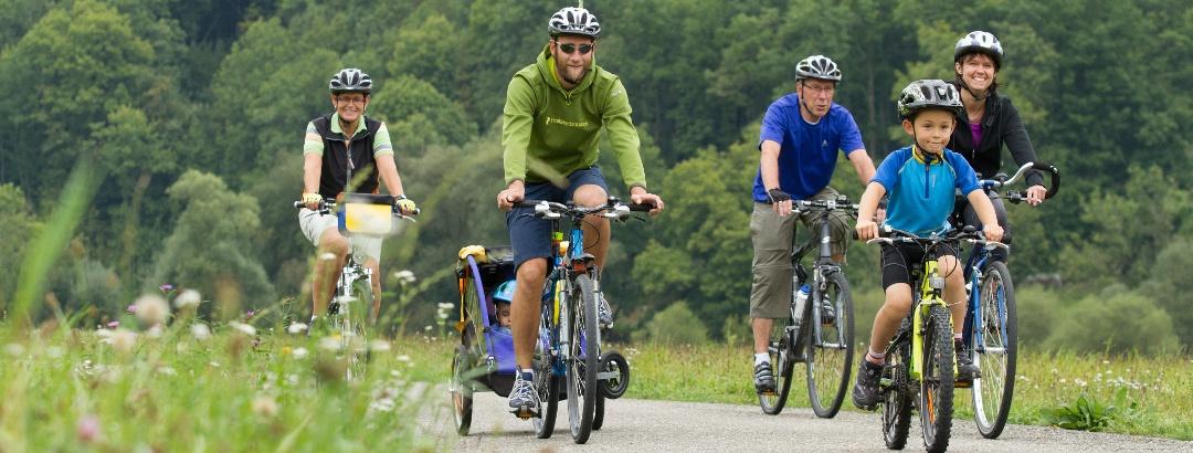 Tolle Fahrradtouren für Groß und Klein im Hohenloher Land