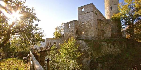 Burg Randeck oberhalb von Essing