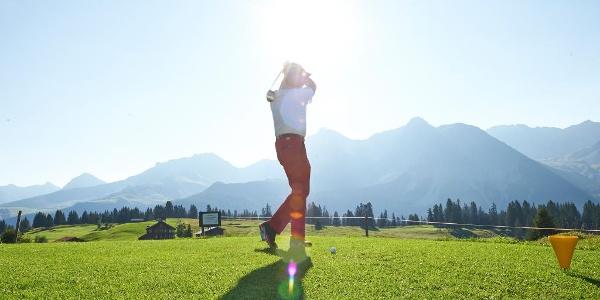 Der höchstgelegene 18-Loch-Golfplatz Europas