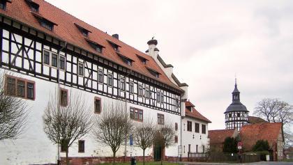 Schloss Gerstungen und Katharinenkirche
