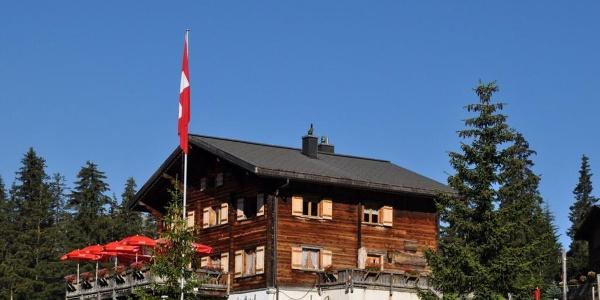 Restaurant Tschugga im Sommer