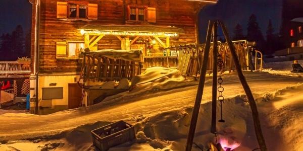 Restaurant Tschugga im Winter