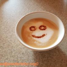 Cappuccino in der Hütte