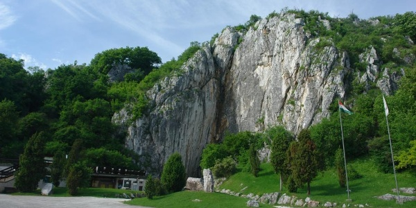 Hlavný vchod do jaskyne Baradla-barlang, Aggtelek