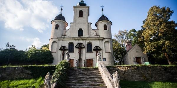 Kálvária Kirche,Kőszeg