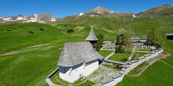 Das Bergkirchli im Sommer