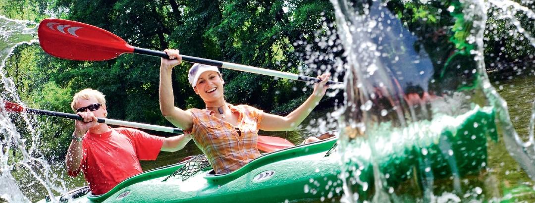 Wasserwandern auf der Saale
