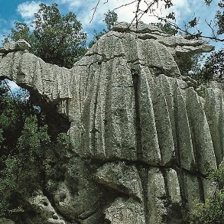 Die Felsformation Es Camell