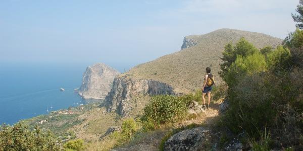 Blick auf Monte Catalfano