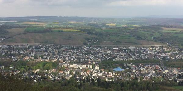 Aussicht vom Turm auf dem Neuenahrer Berg