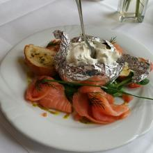 Essen im Hotel Sauerbrey in Lerbach