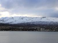 Blatindur über Akureyri