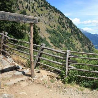 Meraner Höhenweg - Etappe 1 von Hochmuth bis Giggelberg