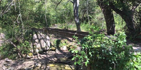 Schienenbrücke