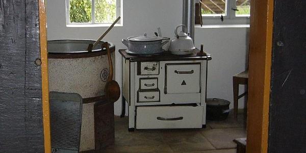 Küche in der Heimatstube Klenke in Ottenstein