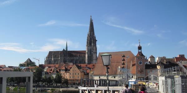 Regensburg - Steinerne Brücke + Dom