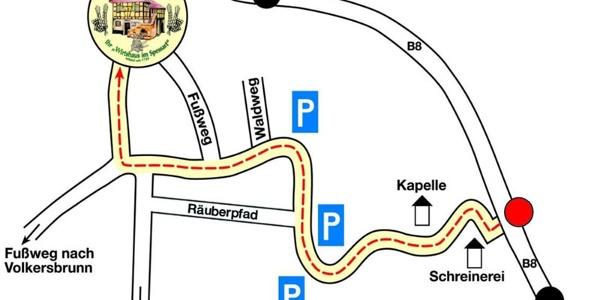 Anfahrt & Parkplätze Hohe Wart Haus
