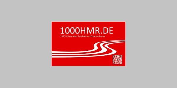 Beschilderung der 1000HMR