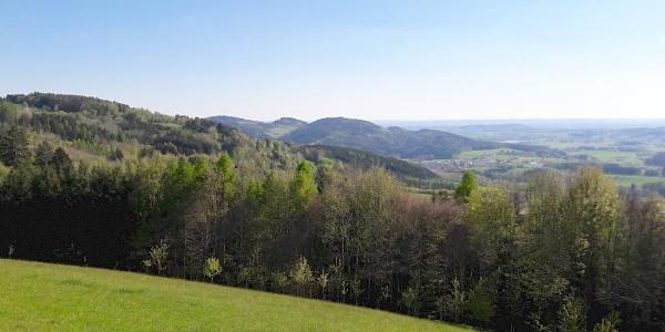 Blick von Hagnberg nach Süden