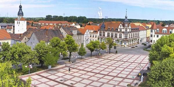 Marktplatz Groitzsch