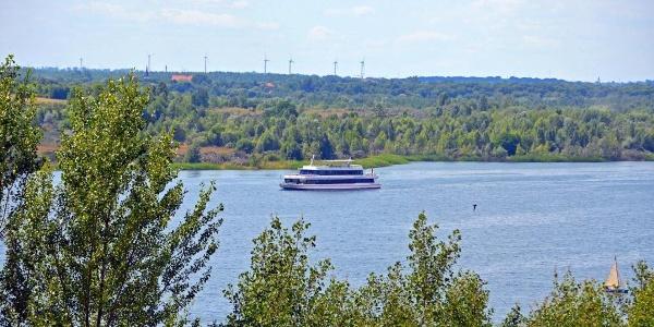 Markkleeberg - Markkleeberger See - Passagierschiff (Foto LTM Andreas Schmidt)