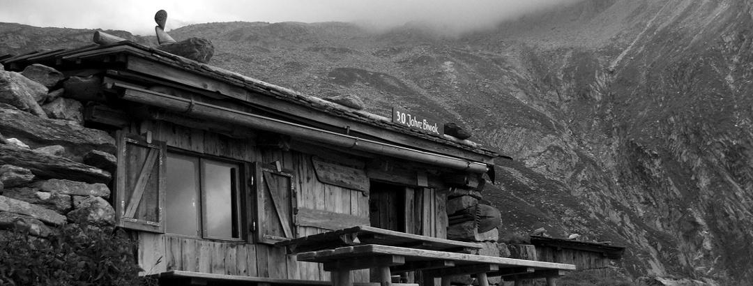 Das Walter-Brenninger-Biwak am Pfunderer Höhenweg