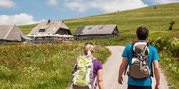 Auf dem Weg zur St. Wilhelmer Hütte