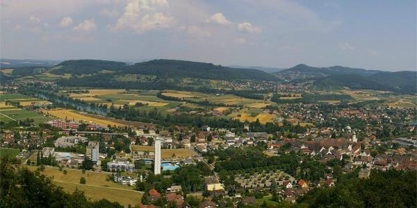 Panorama vom Rheintalblick