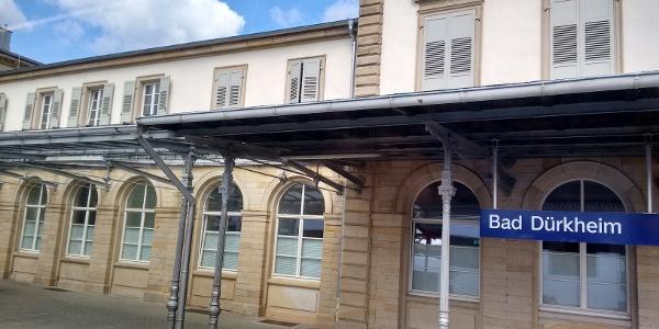 Am Bahnhof Bad Dürkheim