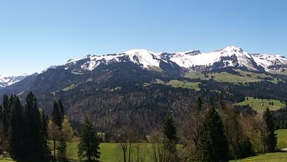 Bergpanorama in Vorarlberg