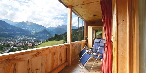 Balkon Sommer plus Infrarotkabine