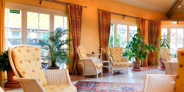 Hotel Adlerbad in Bad Peterstal-Griesbach/Wintergarten