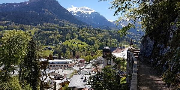 Auf der Berchtesgadener Soleleitung