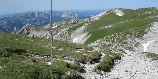 Über das Hochplateau des Hochschwabs (Rauchtalsattel), (19.07.2012)
