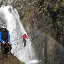 Möllschlucht Klettersteig