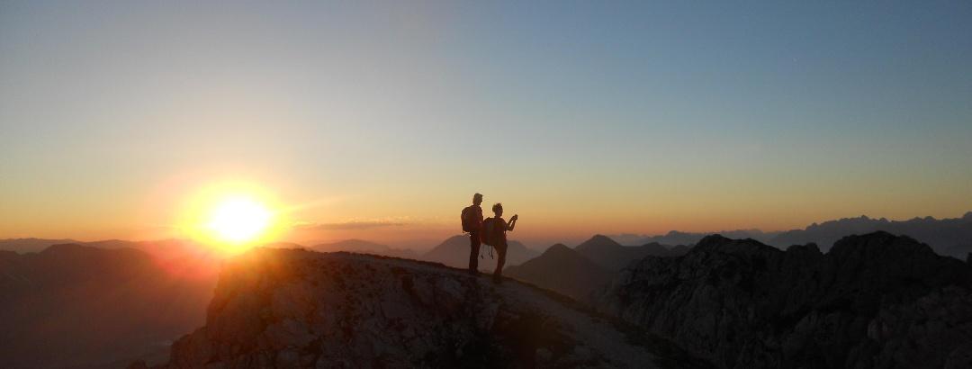 Über den Gipfeln der Karnischen Alpen