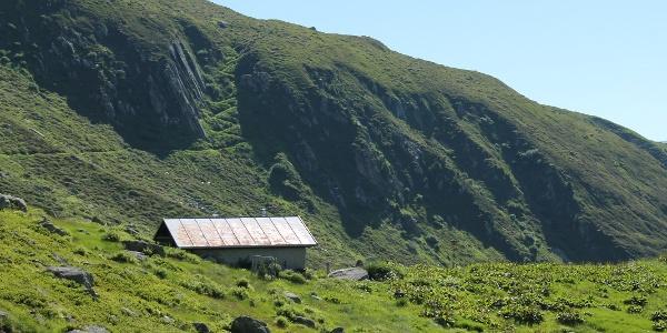 Alphütte beim Lag Serein