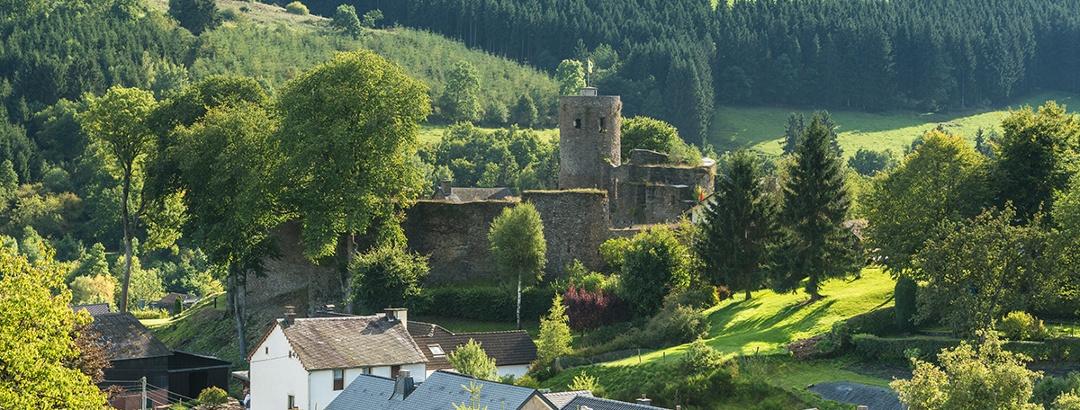 Burg Reuland Burgruine