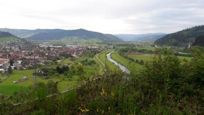 Blick auf Biberach und das Kinzigtal von der Konradskapelle aus